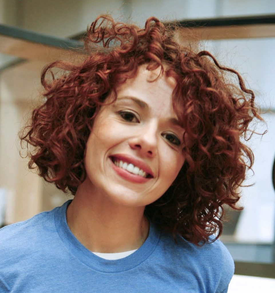 A Hot Mess on Short Curly Hair or Wavy hair