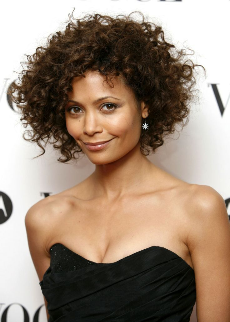 Airy Stylefor Short Curly Hair or Wavy Hair