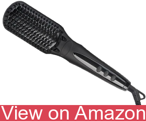 BearMoo Fast Heating - Hair Straightener Brush
